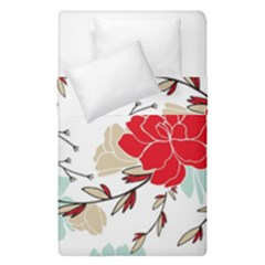 Floral Pattern  Duvet Cover Double Side (single Size) by Sobalvarro