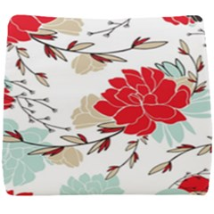 Floral Pattern  Seat Cushion by Sobalvarro