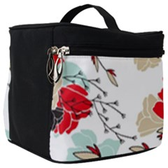 Floral Pattern  Make Up Travel Bag (big) by Sobalvarro