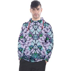 Paradise Flowers In Paradise Colors Men s Pullover Hoodie