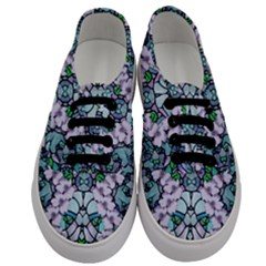 Paradise Flowers In Paradise Colors Men s Classic Low Top Sneakers