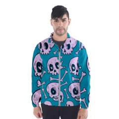 Skull Men s Windbreaker by Sobalvarro