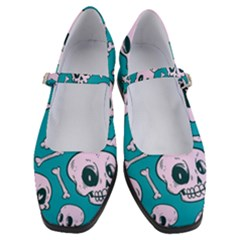 Skull Women s Mary Jane Shoes by Sobalvarro