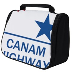 Canam Highway Shield  Full Print Travel Pouch (big)