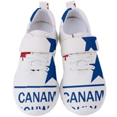 Canam Highway Shield  Women s Velcro Strap Shoes by abbeyz71