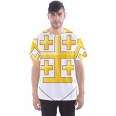 Arms Of The Kingdom Of Jerusalem Men s Sport Mesh Tee