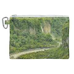 Amazonia Landscape, Banos, Ecuador Canvas Cosmetic Bag (xl)
