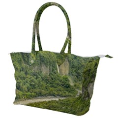 Amazonia Landscape, Banos, Ecuador Canvas Shoulder Bag
