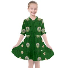 The Way To Freedom One Island One Gnome Kids  All Frills Chiffon Dress