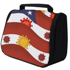 Flage Save Usa Corona Full Print Travel Pouch (big)