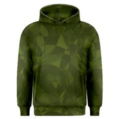Army Green Color Pattern Men s Overhead Hoodie