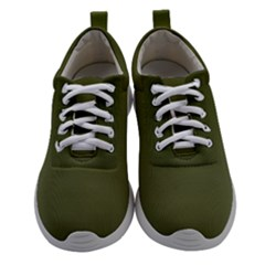 Army Green Color Ombre Athletic Shoes by SpinnyChairDesigns
