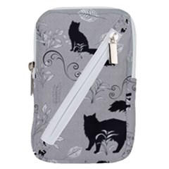 Grey Cats Design  Belt Pouch Bag (large) by Abe731