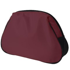 True Burgundy Color Full Print Accessory Pouch (big)