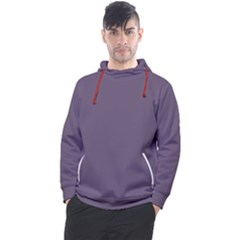 Grape Compote Purple Color Men s Pullover Hoodie
