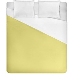 True Lemon Yellow Color Duvet Cover (california King Size) by SpinnyChairDesigns