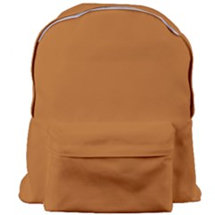 True Light Brown Color Giant Full Print Backpack