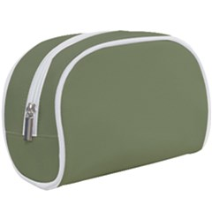 Sage Green Color Makeup Case (large) by SpinnyChairDesigns