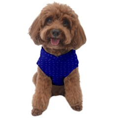 Navy Blue Color Polka Dots Dog Sweater