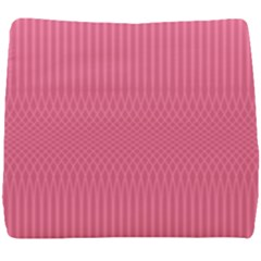 Blush Pink Color Stripes Seat Cushion