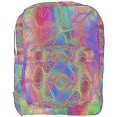 Boho Tie Dye Rainbow Full Print Backpack