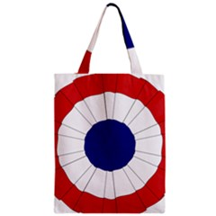 National Cockade Of France  Zipper Classic Tote Bag by abbeyz71