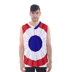 National Cockade Of France  Men s Basketball Tank Top by abbeyz71