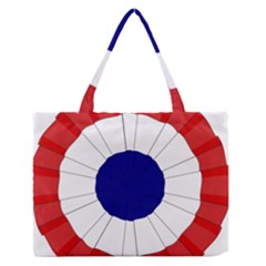 National Cockade Of France  Zipper Medium Tote Bag by abbeyz71