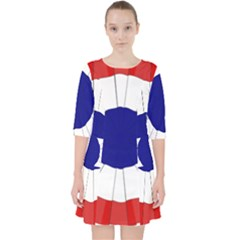 National Cockade Of France  Pocket Dress by abbeyz71