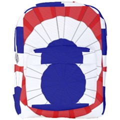 National Cockade Of France  Full Print Backpack by abbeyz71