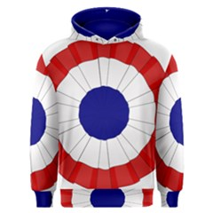 National Cockade Of France  Men s Overhead Hoodie by abbeyz71