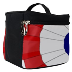 National Cockade Of France  Make Up Travel Bag (small) by abbeyz71