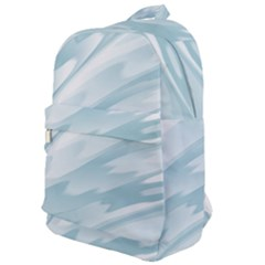 Light Blue Feathered Texture Classic Backpack