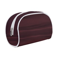 Burgundy Wine Ombre Makeup Case (small)