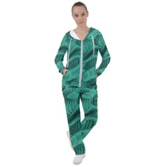 Biscay Green Swirls Women s Tracksuit