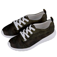 Army Green Grunge Texture Women s Lightweight Sports Shoes by SpinnyChairDesigns