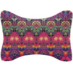 Boho Colorful Pattern Seat Head Rest Cushion