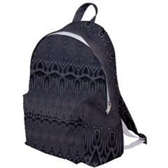 Boho Black Diamonds The Plain Backpack by SpinnyChairDesigns