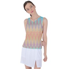 Boho Pastel Colors Women s Sleeveless Sports Top by SpinnyChairDesigns