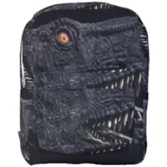 Trex Dinosaur Head Dark Poster Full Print Backpack