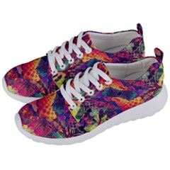 Colorful Boho Abstract Art Men s Lightweight Sports Shoes by SpinnyChairDesigns