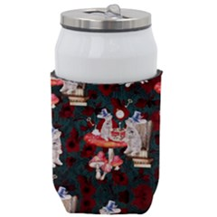 Alice In The Wonderland Rabbit Time Thermal Can Holder by Wanni