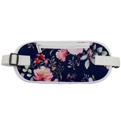 Printed Floral Pattern Rounded Waist Pouch