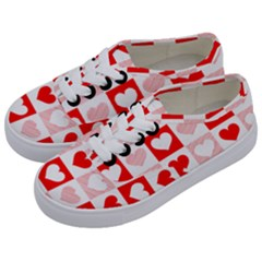 Hearts  Kids  Classic Low Top Sneakers by Sobalvarro