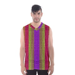 Colors Of A Rainbow Men s Basketball Tank Top