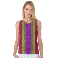 Colors Of A Rainbow Women s Basketball Tank Top