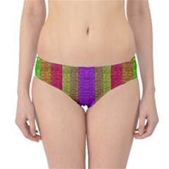 Colors Of A Rainbow Hipster Bikini Bottoms