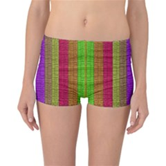 Colors Of A Rainbow Reversible Boyleg Bikini Bottoms