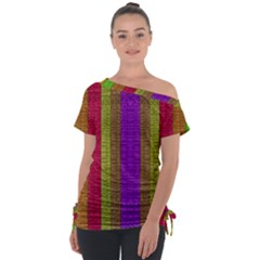 Colors Of A Rainbow Tie-up Tee