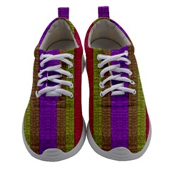 Colors Of A Rainbow Athletic Shoes